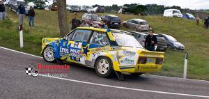 """Paolo Diana e la sua 131 """"Ti voglio racing"""" - Foto Wolly Creative"""