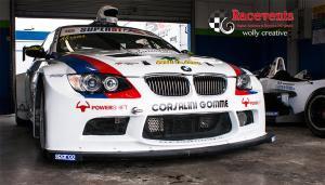 Abramo Antonicelli al box di Magione per L'Individual Races Series